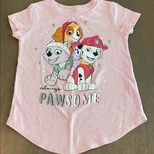 Paw Patrol pink shirt by jumping beans 3T